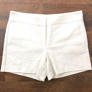 Ann Taylor white shorts sz 6